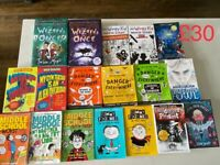 18 Popular Kids' Books - 8-12 year old reading level