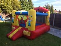 Bouncy castle blower
