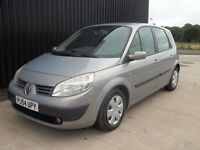 2004 (54) Renault Scenic 1.4 16v Expression 5dr Long MOT 2 Keys May Px