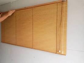 Wood effect blinds