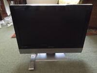"Flatscreen LCD widescreen 27"" TV in good condition"