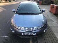 2006 HONDA CIVIC 2.2 CDTI SPORT,DRIVES LIKE NEW,LONG MOT,EXCELLENT CONDITION,2 KEYS