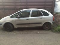spares or repairs project citreon picasso peole carrier shed bargain must go