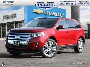 2013 Ford Edge SEL 4D Utility FWD SEL with Leather, sunroof, Chr