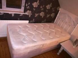 2 Single Divan beds with mattress