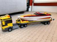 Lego City 4643 Power Boat Transporter