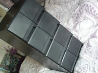 2x CD drawers, stackable. Good condition