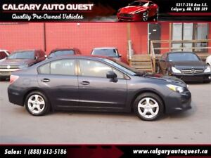 2013 Subaru Impreza 2.0i ALL WHEEL DRIVE/5-SPEED MANUAL/MUST SEE
