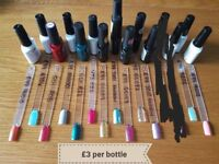 Various gel polishes £3 each