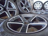 19inch Alloy wheels land range rover bmw x5 vw t5 transporter sport 5x120 p38