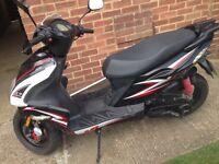 2012 MOTO ROMA G10 50cc moped