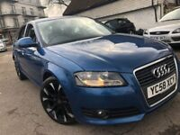AUDI A3 FACELIFT 2.0 DIESEL FULL HISTORY 1 PREVIOUS OWNER VERY CLEAN 2 KEYS...