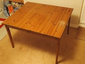 Ikea Dining Table, Wood.