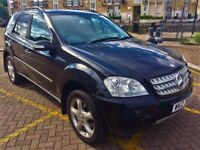 Mercedes ML 320 CDI automatic 2007 full service history half leather and sued