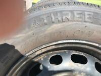 4 x wheels and tyres 195/65 R15