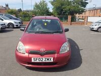 Toyota Yaris 1.0 Colour Collection VVTI 16V 2002 Great Condition , Full Year MOT