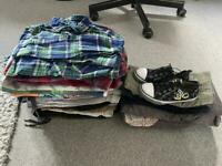Huge bundle of boys clothes age 5-6, 7-8 including Next items