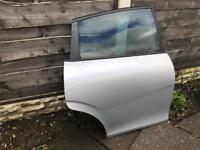 Seat Leon FR MK2 TDI 170 Drivers rear door in silver with glass 2005-2012