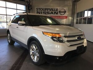 Ford Explorer limited loaded gps and dvd players 2014