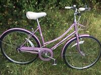 """Vintage small frame 24"""" wheel Raleigh caprice"""