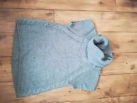 Oasis roll neck jumper