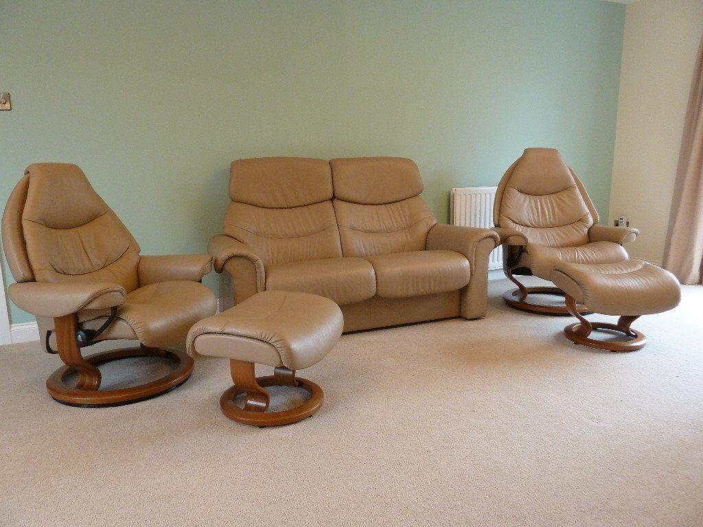 ekornes stressless living room furniture  in congleton
