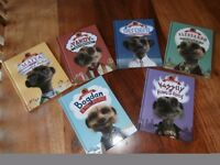 COMPARE THE MARKET MEERKAT BOOKS - SET OF 6 - NEW