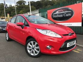 2011 (11 reg) Ford Fiesta 1.25 Zetec 5dr Hatchback Petrol 5 Speed Manual Low Miles