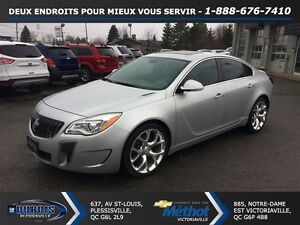 2015 Buick Regal GS+AWD+TOIT+GPS+TURBO+CUIR