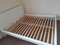 SUPER KING SIZE IKEA BED FRAME PERFECT CONDITION