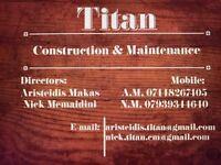 Builders,carpenters,tilers