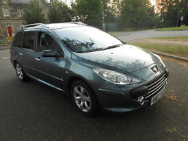 Peugeot 307 SW SE 1.6HDI '07 7 SEATS, Full Service History
