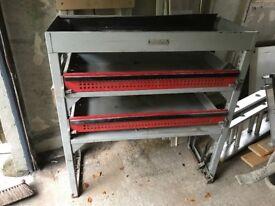 Van shelving unit