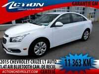 2015 CHEVROLET CRUZE LT TURBO LT Turbo AUTO AIR 1.4T MY LINK