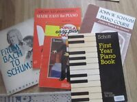Piano Music - Selection of Books