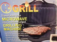 Microwave Turbo Charged Grilling Machine.