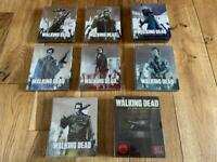 The walking dead Blu-ray steelbook 1-7