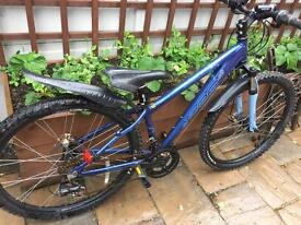"14"" Apollo XC26se bike bicycle. Inc disc brakes, new lights, front suspension. Delivery available"