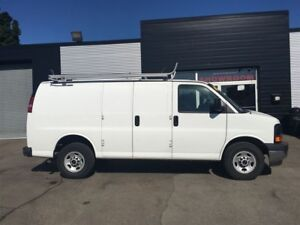 2017 Chevrolet Express GMC G2500 Shelving and Ladder rack includ