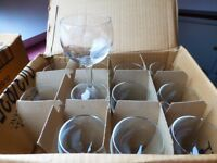 Catering wine glasses