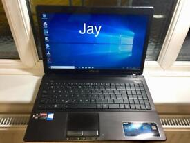 Asus HD 4GB Ram Quick Laptop 250GB window10,Microsoft office,Ready to use