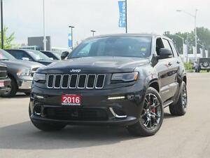 2016 Jeep Grand Cherokee SRT! V8! DVD! Luxury!