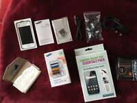 Samsung Galaxy Ace GT-S5830I - La Fleur - design White Unlocked SIM Free Android Smartphone
