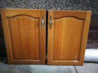 Kitchen unit front doors country style