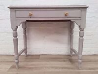 Painted Victorian Console Table (DELIVERY AVAILABLE FOR THIS ITEM OF FURNITURE)