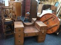 LOVELY VINTAGE DRESSING TABLE WITH MIRROR
