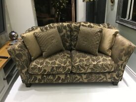 2 Seater sofa in very good condition and of very good build quality ex Vineys.