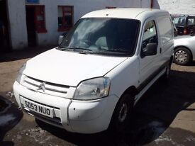 CITROEN BERLINGO SPARES OR REPAIR