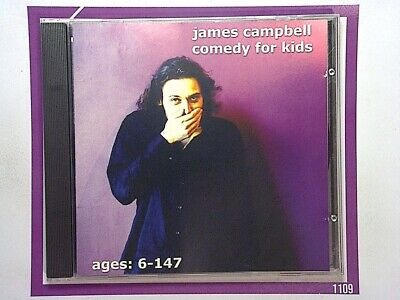 James CampbellComedy For Kids CD Mint signed