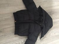 Hugo boss black puffer coat